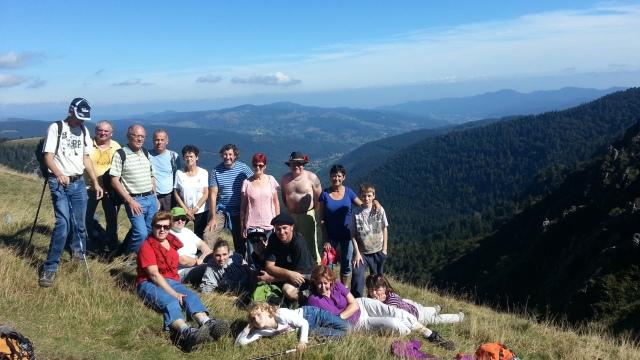 Randonnée dans les Vosges en 2013